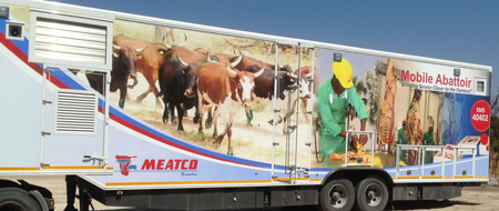 Meatco's mobile abbattoir pays out over N$5 million to farmers in the Kavango