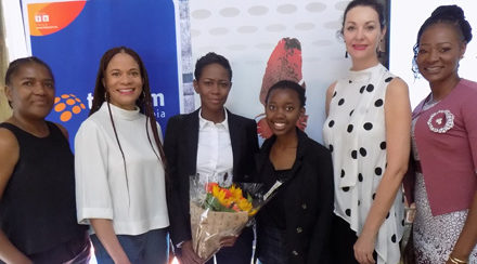 Reigning Businesswoman of the Year networks with the Economist Businesswomen Club