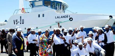 Lalandii Holdings pumps N$160 million into deep sea vessel
