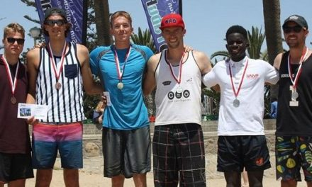 Conrad Johannes and Jan-Eric Sack scoop Fabupharm Swakop Masters beach volleyball tournie