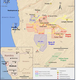 Deep Yellow reports significant increase in resource at Tumas 1 East