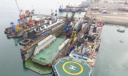 Rebranded drydock operator lands its first major contract with Angolan navy