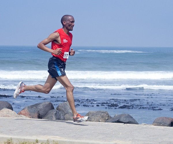 Sunday's Swakopmund triathlon again to separate the men from the boys