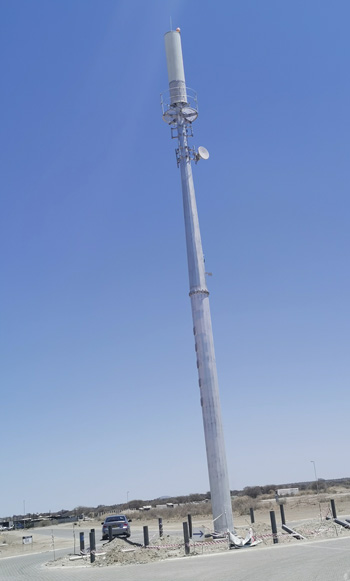 MTC erects first ever macro base station to address issues related to high urban macro site deployment cost