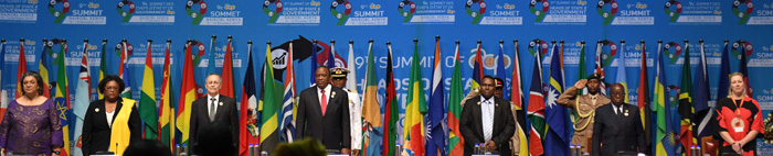Heads of State and Government of the African, Caribbean and Pacific Group of States converge in Nairobi