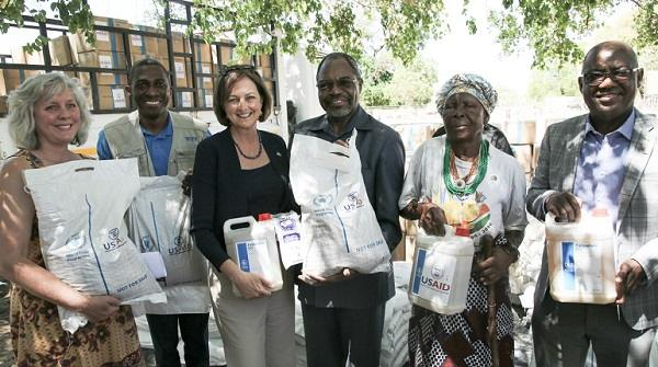 US emergency food relief project starts in Kavango East, eventually to reach 350,000 Namibians
