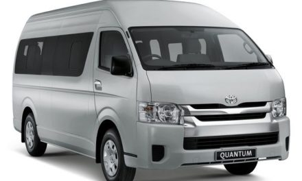 Revived old-style Quantum minibus continues under Hiace livery