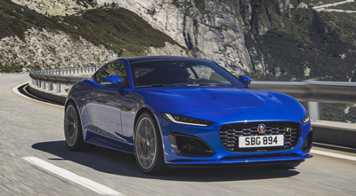 The new Jaguar F-TYPE offers even greater driver reward
