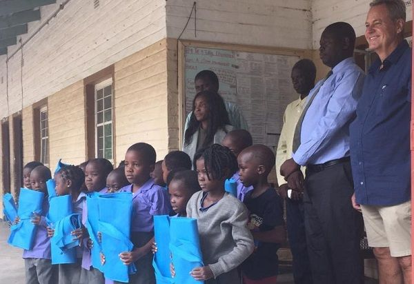 Caprivi's youngest learners start school year with support from local lodge