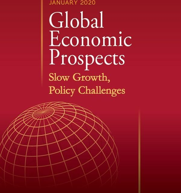 Developing economies' growth to pick up to 4.1% in 2020 but rebound is not broad-based – World Bank 2020 view