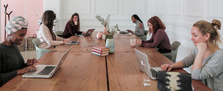Driving female-focused entrepreneurship through coworking and community