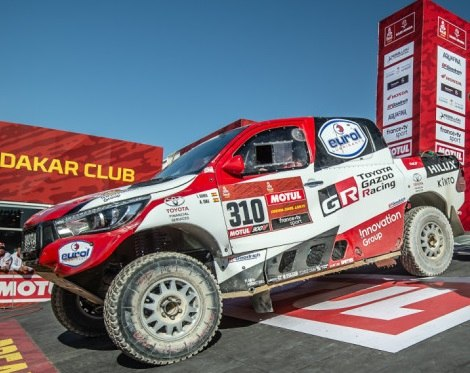 Short route forces Al-Attiyah to settle for second place in Dakar – three Hilux bakkies in top ten