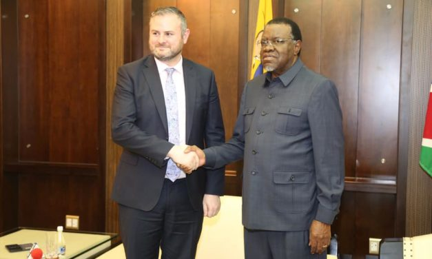 Geingob affirms Namibia's readiness to deepen existing trade and investments with the UK