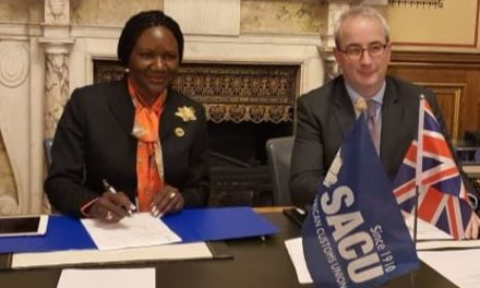SACU, UK ink agreement to support the implementation of the ongoing Customs Modernisation Programme