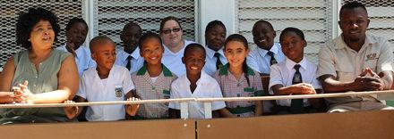 Breweries donates 30 desks to Emma Hoogenhout Primary School