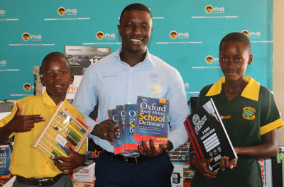Fast-growing Otjituuo Primary School receives hefty boost from local bank