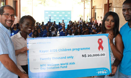 MTC donates to Kayec Aids Children's Programme