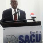 Botswana's President Masisi visits SACU Secretariat