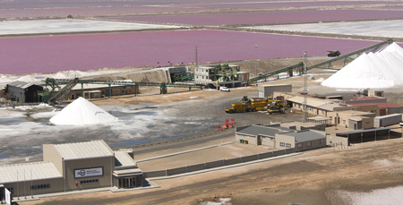 Walvis Bay Salt Refiners invests N$93.6 million in new processing plant