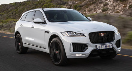 Special edition F-PACE Chequered Flag lands in Africa