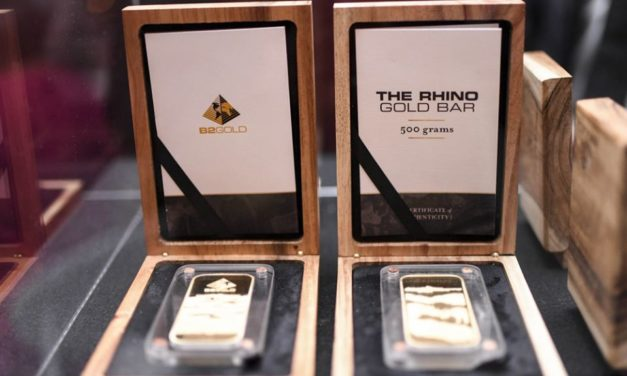 Canadian mining outfit gold worth US$1.5 to support black rhino conservation and the communities that protect them