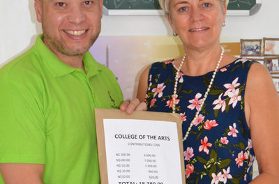 College of the Arts supports the Cancer Association