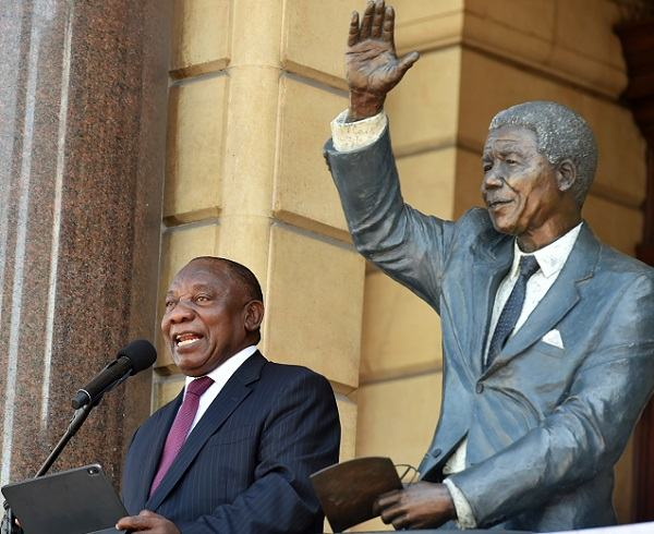 Thirty years after the end of Madiba's long walk to freedom the world still celebrates