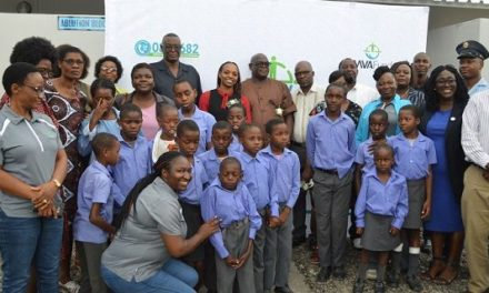 MVA Fund builds handicap-friendly ablution block for learners at Mulumba in the Caprivi