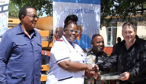 Opuwo District Hospital gets medical equipment worth N$890,000