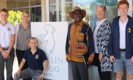 Hon Nahas Angula joins HPS learners on special day to celebrate cultural identity and diversity