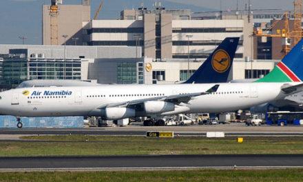Flight carrying almost 200 German tourists departs Windhoek