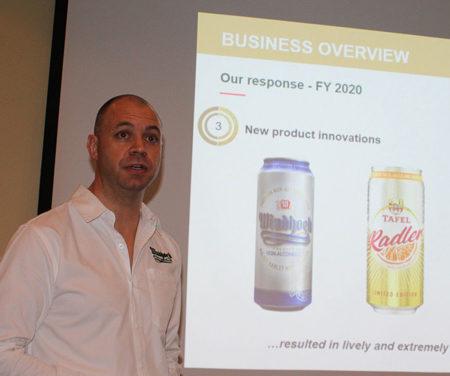 Namibia Breweries' operating profit down to N$340 million