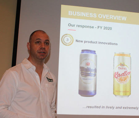 Namibia Breweries' operating profit down to N$340 million