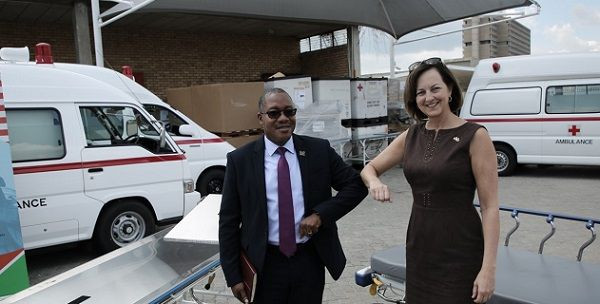 Bumping is back. Health ministry gets support from US Embassy