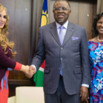 Merck Foundation exec meets President to underscore long-term partnership with First Lady