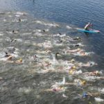Nearly full Oanob offers a delight to swimmers in the Pointbreak Openwater Swim