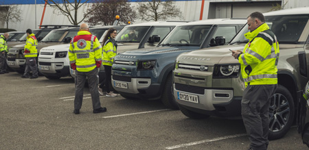 Jag, Landy deploy global fleet to support emergency response partners for the COVID-19 crisis