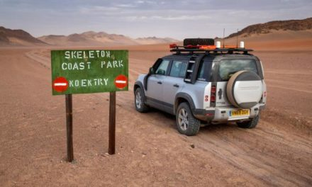 New Defender makes its first Sub-Sahara foray in Namibia's remote Kunene region