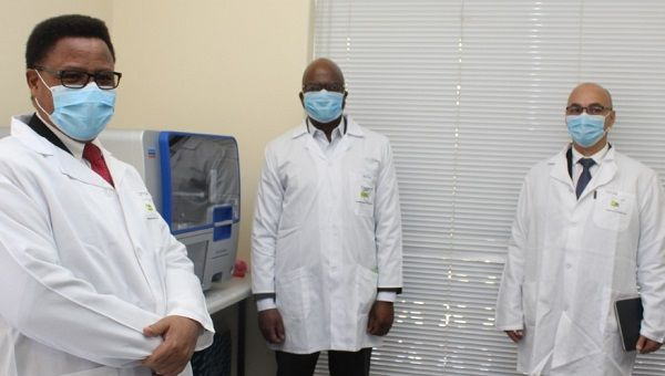Automated DNA extractors arrive at pathology institute to double testing capacity