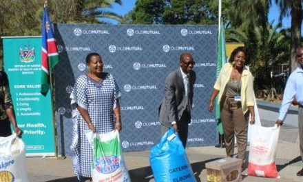 Khomas first region to receive food support from Old Mutual for people without shelter