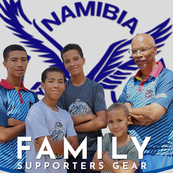 Loyal Cricket supporters' dreams turn to reality – Cricket Namibia launches supporters shirt and equipment gear