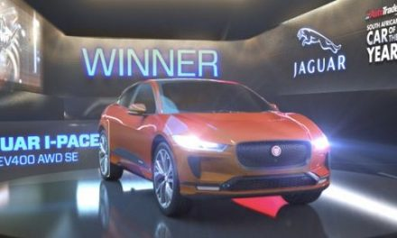 All electric Jaguar I-PACE new Car of the Year in South Africa