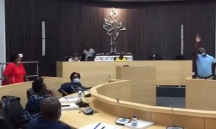 City of Windhoek Council meeting erupts in chaos