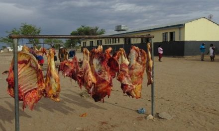 Funds for Kunene to buy cattle and then distribute the meat to communities in distress