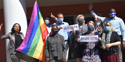 EU delegation determined to address discrimination based on sexual orientation