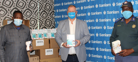 Sanlam donates protective gear and screening equipment to City of Windhoek