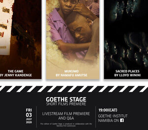 Goethe Stage to premiere locally written, directed and produced short films in July