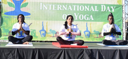 Indian High Commission conducts online yoga session to mark International Day