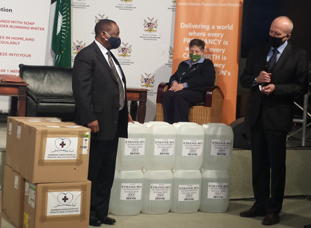 Health Ministry receives 12000 litres of ethanol for sanitizer production