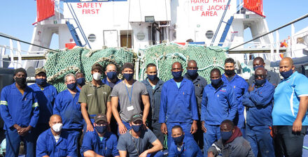 Hangana Seafood revamps M.F.V Erica vessel, first voyage expected around next week
